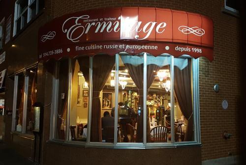 Ermitage-Restaurant Exterior