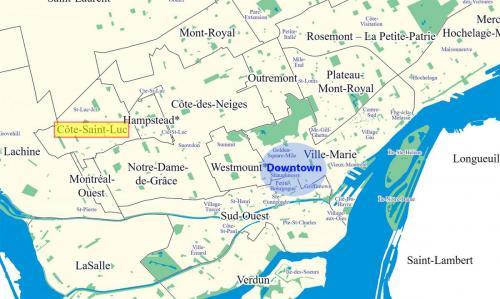 cote-saint-luc-map