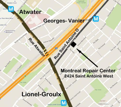 montreal-repair-center-map